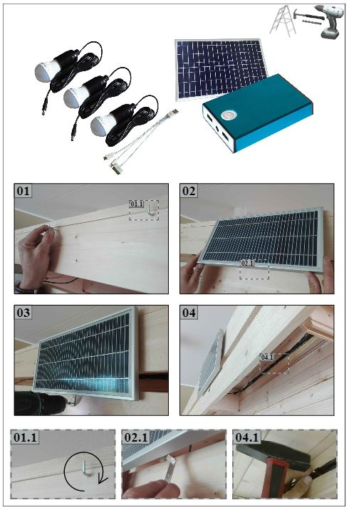 Solar Panel Instructions A